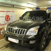 Toyota Land Cruiser Prado 120 — установка биксеноновых линз